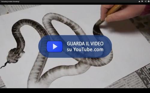 Brushstroke snake