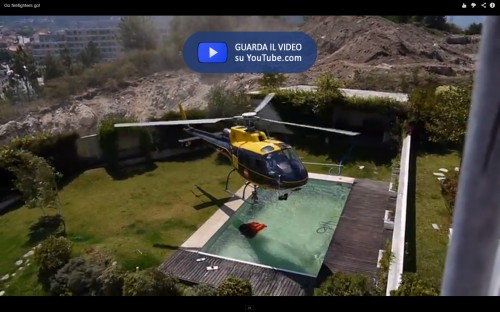 Pool Helicopter