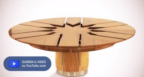 Il tavolo che sboccia come un fiore il di jacopo ranieri