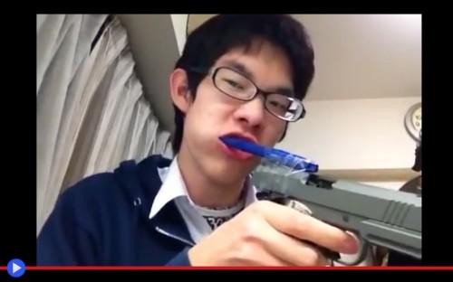 Airsoft toothbrush kid