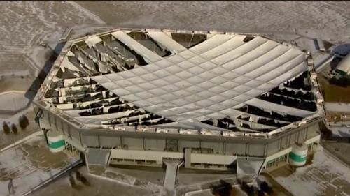 Silverdome ruined