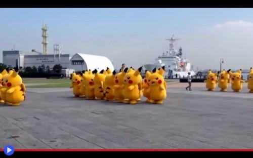 Pikachu Dancers 2
