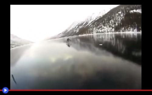 Canadian Ice Lake