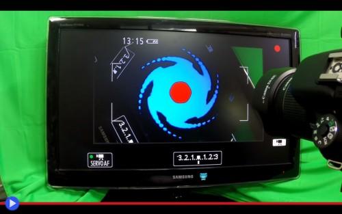 Camera black hole