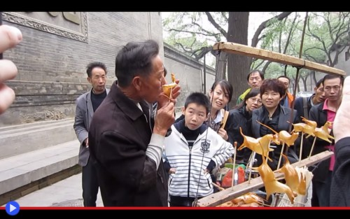 Xian Sugar Blowing