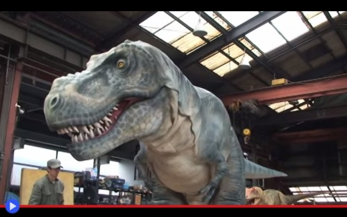 On Art T-Rex
