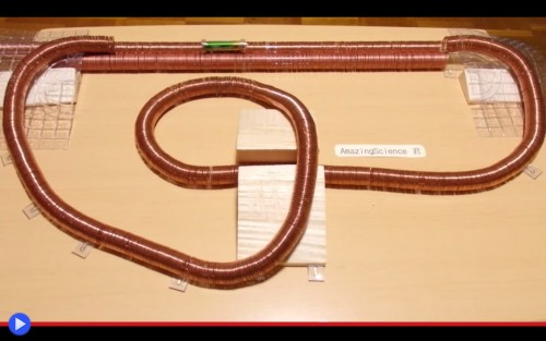 Simplest Electric Train