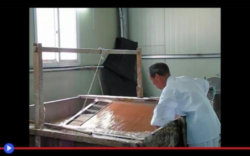 Hanji making