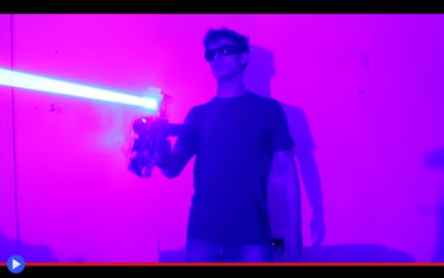 Laser Shotgun