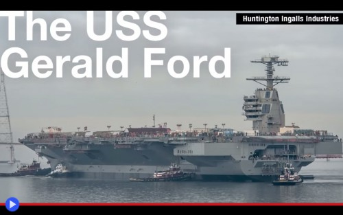 The USS Gerald Ford