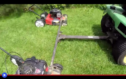 Triple Lawnmower