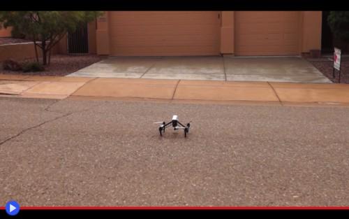 Drone flyaway
