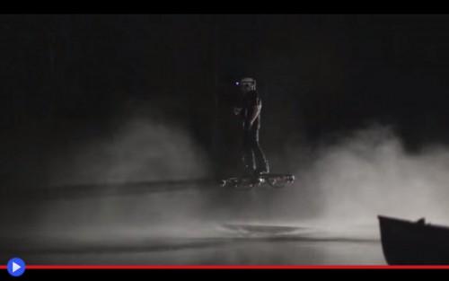 Omni Hoverboard Night