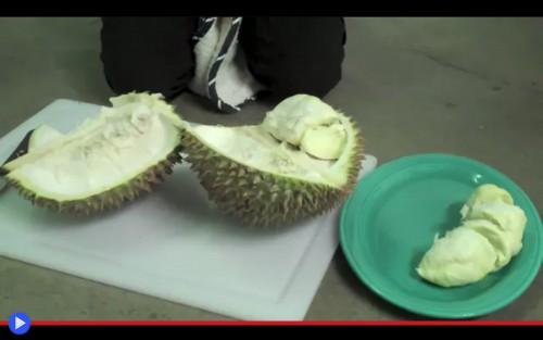 Cut the Durian