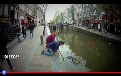 Bike in the canal