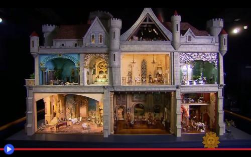 Le tre case delle bambole pi preziose al mondo il blog for Case che sembrano castelli