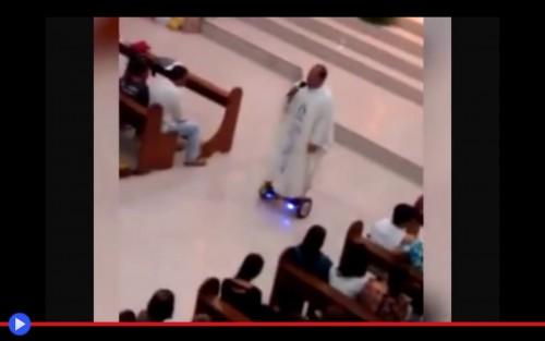 Hoverboard Priest
