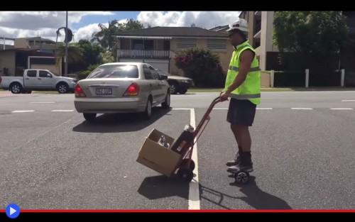 Hoverboard Tradie