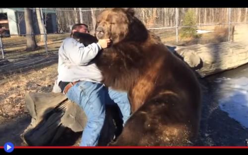 Russian Bear Hug