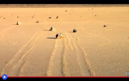 Death Valley Rocks Move