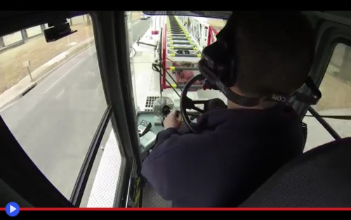 Fire Truck Tiller