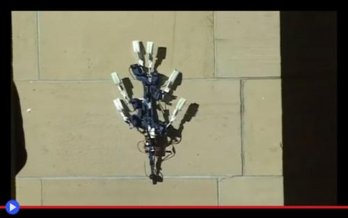 Spinybot climber