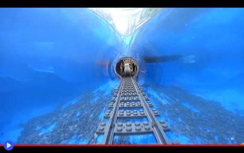 Lego Train Pool