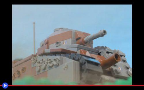 Lego Battle for France at Stonne