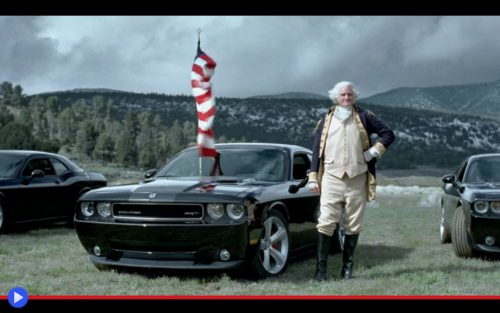Dodge Challenger Washington Ad