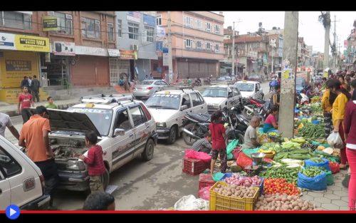 Smoked out Kathmandu