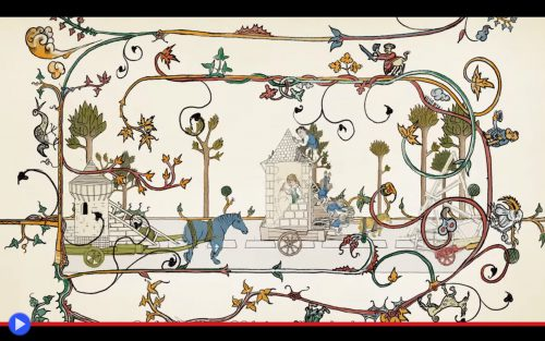 Guedelon Castle Cartoon