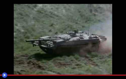 Swedish S Tank